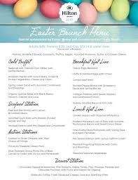 Easter Brunch Buffet Menu by Hilton Concord Easter Brunch 2017 Tickets Sun Apr 16 2017 At