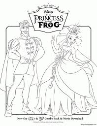 disney coloring pages princess frog holiday coloring