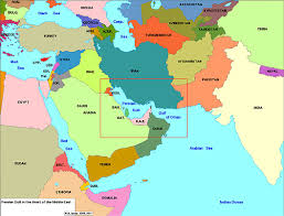 middle east map kazakhstan middle east maps the gulf 2000 project sipa columbia