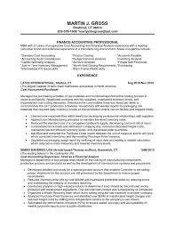 financial analyst description resume 28 images senior finance