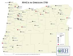 Oregon County Map With Cities by Oregon Resources Rural Health Information Hub