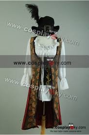 Pirates Caribbean Halloween Costume Pirates Caribbean 4 Stranger Tides Angelica Costume