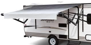 How To Make A Camper Awning 2017 Jay Flight Slx Travel Trailer Jayco Inc