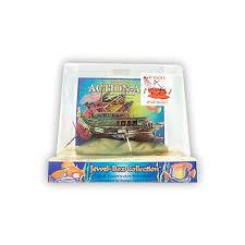 penn plax air box shipwreck aquarium ornament petco