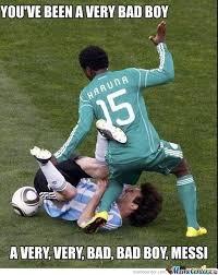 Funny Messi Memes - bad messi by mohawkk meme center