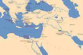 Babylonian Empire Map The Seven Wonders Of The Ancient World