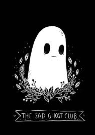 cartoon ghost halloween background napstablook kawaii pinterest wallpaper illustrations and