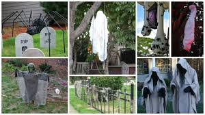 diy outdoor halloween decorations home design ideas and pictures