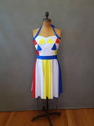 made to order katy perry beach ball inspired dress