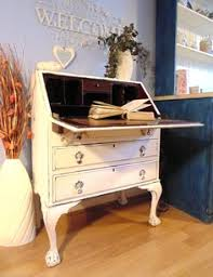 Shabby Chic Writing Desk by Beautiful Vintage Writing Bureau Desk 3 Drawers Shabby Chic Annie