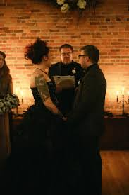 haunted library meets edgar allan poe wedding