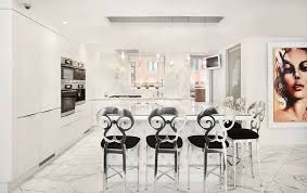 Black And White Kitchen Floor Tiles - 45 luxurious kitchens with white cabinets ultimate guide