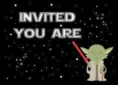 Star Wars Baby Shower Invitations - star wars baby shower invitation digital file by montrosedesigns