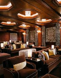 Best Ultimate Home Theater Designs Images On Pinterest Home - Home theatre interior design pictures