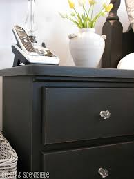 how to paint bedroom furniture black diy chalky paint review clean and scentsible