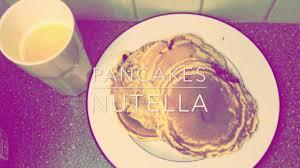 recette pancakes hervé cuisine recette pancakes fourres au nutella