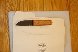 Printable Knife Templates How To Make A Leather Sheath For A Knife Or Anything Else The