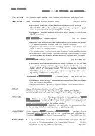 Academic Resume Builder Interesting Academic Resume Template For Grad 26 On Resume