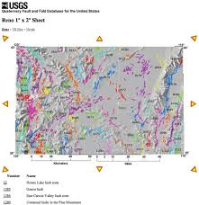 Fault Lines United States Map by Quaternary Fault And Fold Database For The Nation