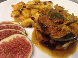 cuisiner les figues poulet aux figues rôties façon tajine papa en cuisine