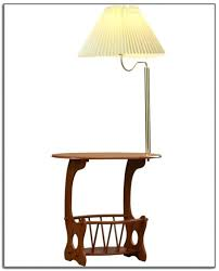 End Table Lamp Combo Table Lamp Table Floor Lamp Set Threshold And Lamps Attached