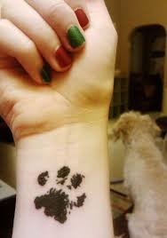 27 cute paw tattoos images