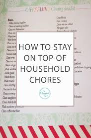 Home Chores by Monthly Wrap Up April Blog Home Organisation The Organised You