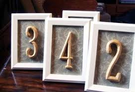 Wedding Table Numbers Ideas Diy Table Number Ideas Diy Inspired