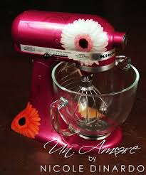 designer kitchen aid mixers custom pink gerbera daisy kitchenaid mixer kitchenaid mixer
