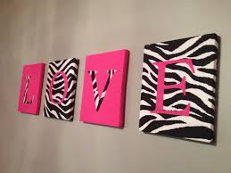 zebra bathroom ideas wall decor with pink and zebra pattern for unique bathroom