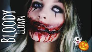 Halloween Makeup Clown Faces by Bloody Clown Halloween Make Up Dagi Bee Halloween Costumes