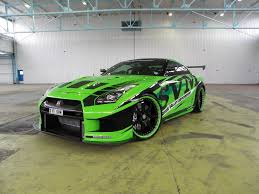 Nissan Gtr 2012 - 2012 nissan gt r becomes the hulk daily tuning