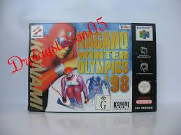 nagano winter olympics 98 nintendo 64 100 pal version aus