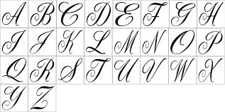 monogramed letters single letter monogram initial script font 11 5 x 11 5 stencil