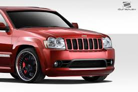 jeep grand cherokee rear bumper amazon com 2005 2007 jeep grand cherokee duraflex srt look front