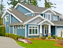 Blue Craftsman House by Best Kitchen Paint Colors Ideas For Popular Blue Pertaining To