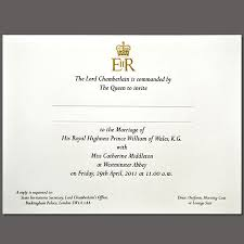 royal wedding invitation royal wedding invitation on paper