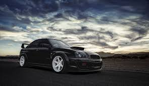 subaru blobeye black subaru impreza wrx sti wallpapers wallpaper cave