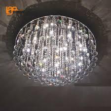 Modern Round Crystal Chandelier Luxury Design Crystal Chandelier Lighting Modern Round Led Ceiling