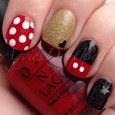 disney mickey and minnie mouse nails perfect for walt disney