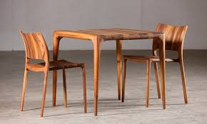 Cherry Wood Furniture Contemporary Dining Table Oak Walnut Cherrywood Latus By