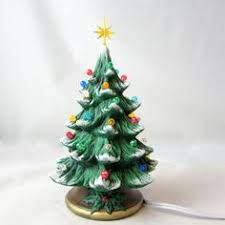 ceramic christmas tree light kit medium ceramic christmas tree 13 5 inches with base hand made