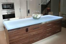 glass kitchen island stunning glass countertops by cbd glass icreatived