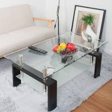 Coffee Table Styles by Btm New Tempered Glass Coffee Table Style Furniture Modern Glass