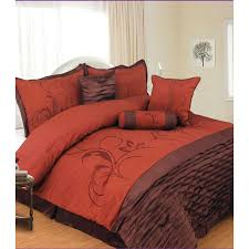 Orange Bed Sets Brown And Orange Comforter Set Blankets Pinterest Orange
