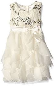 amazon com american princess girls u0027 sequin corkscrew dress clothing