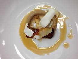 cuisine glace sturgeon matsutake fish demi glace picture of holdfast dining