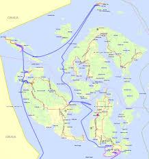 Kayak Map Blue Otter Cruise In The San Juans