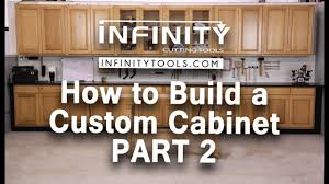 how to build custom base cabinets how to build a custom cabinet part 1