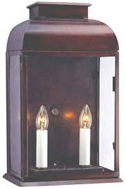 Sconce Outdoor Ashford Colonial Copper Lantern Wall Sconce Outdoor Light